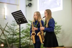 13_saksofoniduo Sara ja Sini