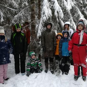Sarka-Versojen talvinen yöretki